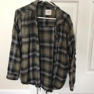 AMERICAN EAGLE Oversizef Fit Flannel